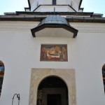 Intrarea in Biserica Manastirii Tismana