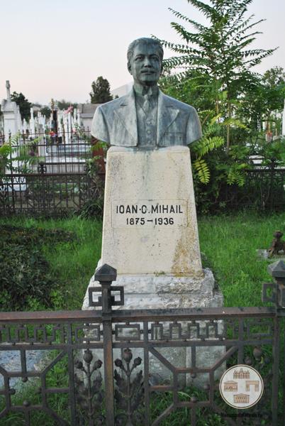 Monumentul funerar al lui Jean Mihail, Cimitirul Ungureni, Craiova