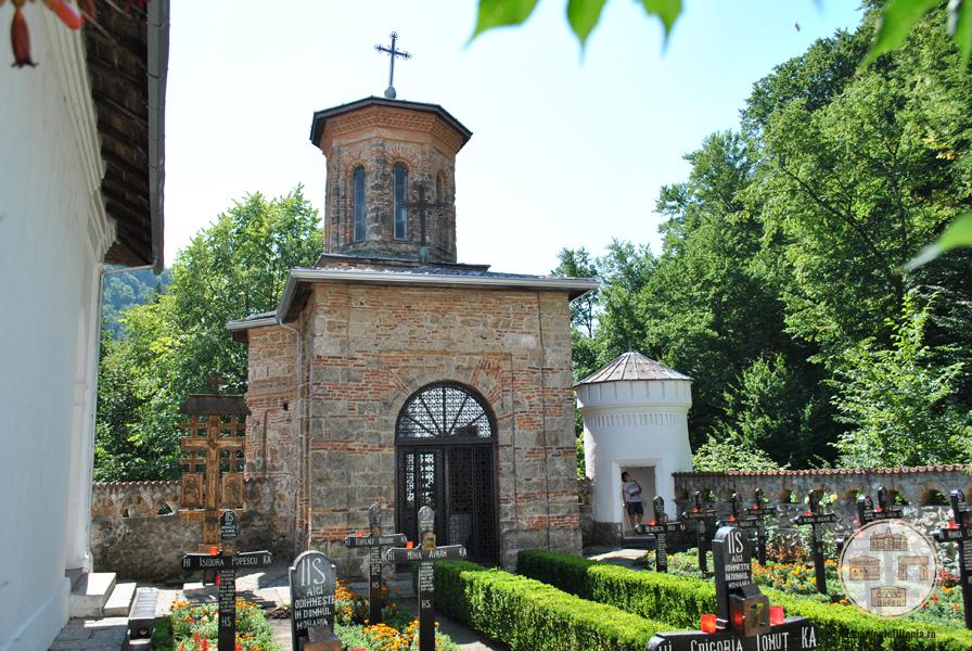 Paraclisul Sf Ilie al Manastirii Tismana
