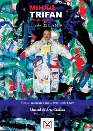 Expozitie Mihail Trifan la Muzeul de Arta Craiova