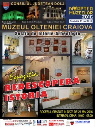 Sectia de Istorie-Arheologie a Muzeului Olteniei - Noaptea Muzeelor 2016