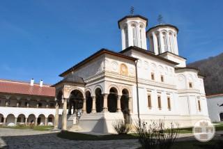 Manastirea Hurezi - Biserica Sf Imparati Constantin si Elena