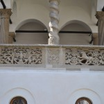Manastirea Hurezi - detalii sculptate foisorul lui Dionisie
