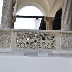 Manastirea Hurezi - sculptura foisorul lui Dionisie