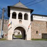 Manastirea Hurezi - intrarea in incinta exterioara