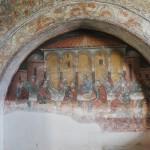 Manastirea Hurezi - pictura trapeza