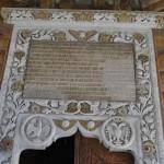 Manastirea Hurezi - pisania bisericii