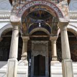 Manastirea Hurezi - pridvorul bisericii