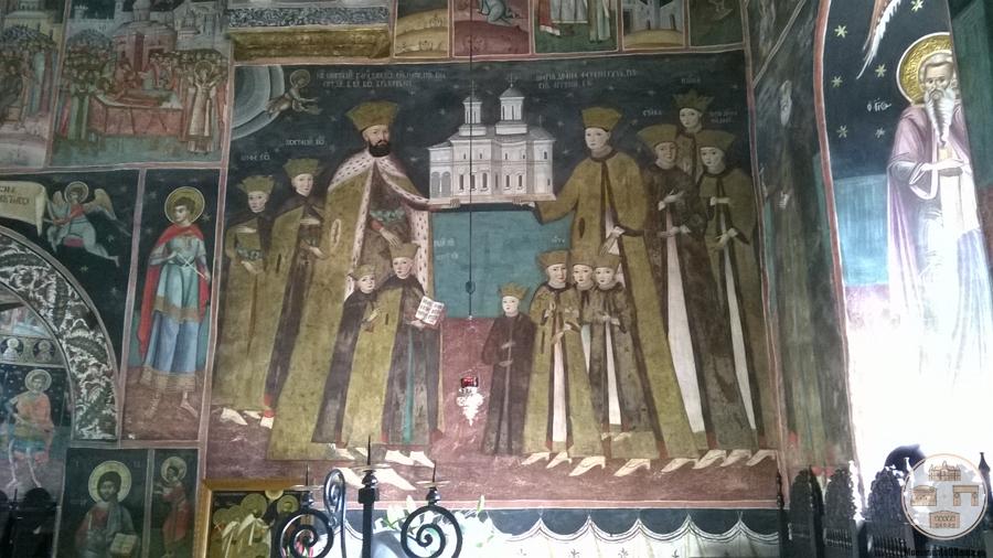 Manastirea Hurezi - tabloul votiv