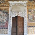 Manastirea Hurezi - usa bisericii