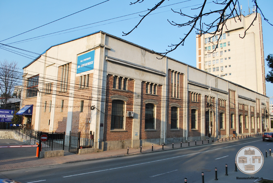 Fosta Uzina Electrica din Craiova, azi Sala Sporturilor Ion Constantinescu