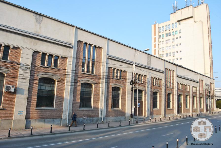 Fosta Uzina Electrica din Craiova - fatada dinspre strada Brestei