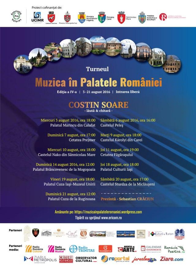 Turneul Muzica în Palatele României 2016