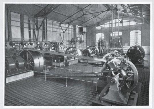 Uzina Electrica din Craiova - Sala Masinilor