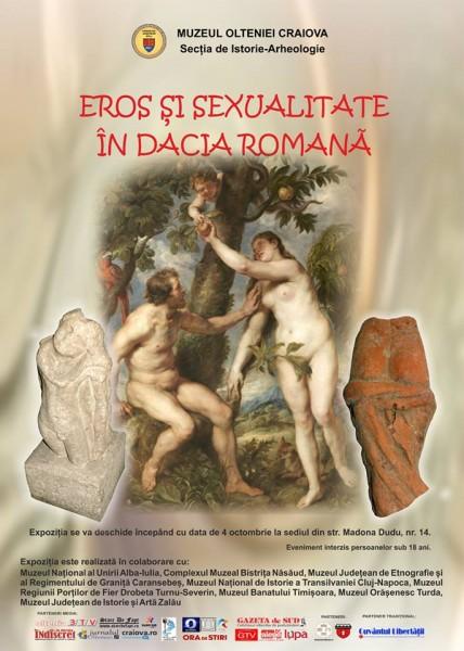 Eros si sexualitate in Dacia Romana