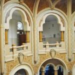 Fostul Hotel Palace, Craiova - decoratiuni pereti si tavan hol (1)