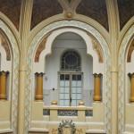 Fostul Hotel Palace, Craiova - decoratiuni pereti si tavan hol (2)