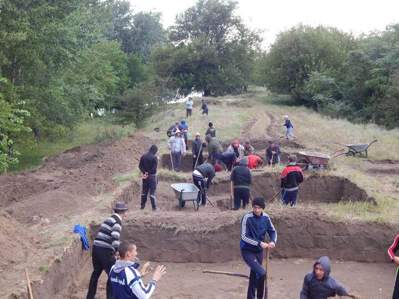 Sapaturi arheologice Desa Dolj
