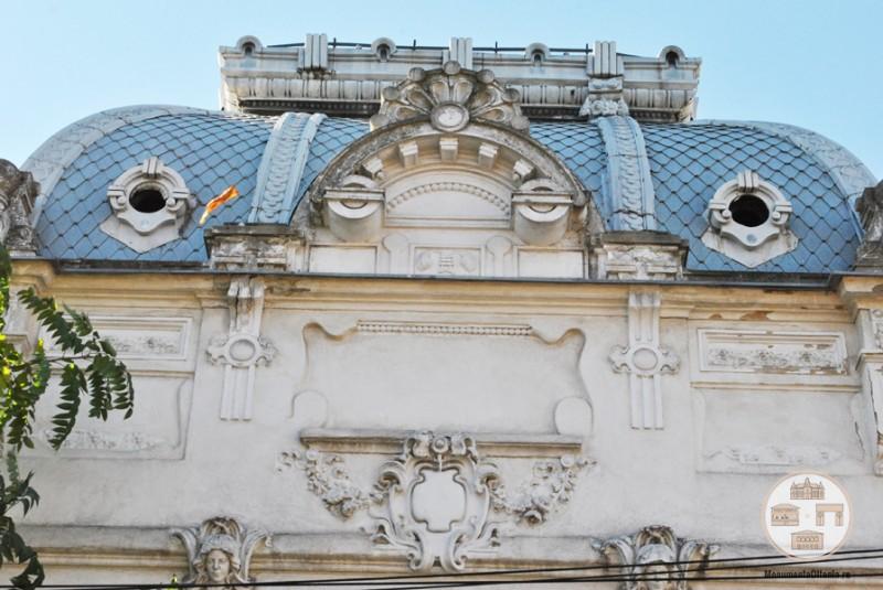 Casa Dianu, Craiova - decoratiuni fatada