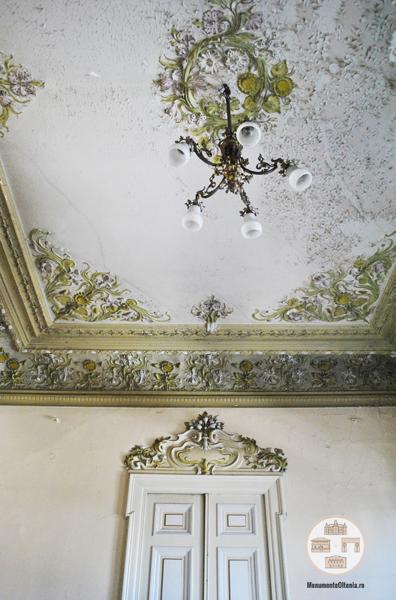 Casa Dianu, Craiova - decoratiuni incapere parter