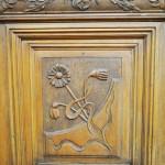 Casa Dianu, Craiova - decoratiuni sculptate usa hol