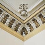 Casa Dianu, Craiova - decoratiuni tavan