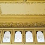 Casa Dianu, Craiova - decoratiuni usi si tavan hol