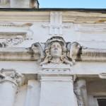 Casa Dianu, Craiova - element figurativ antropomorf