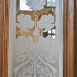 Casa Dianu, Craiova - geam sticla gravata