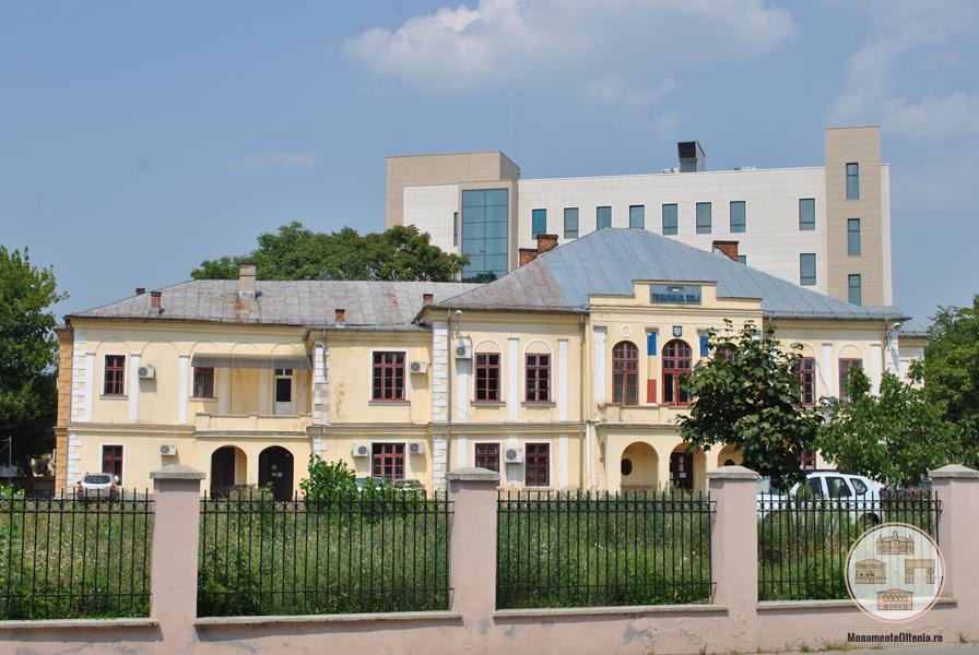 Casa Glogoveanu, Craiova - vedere din str Brestei