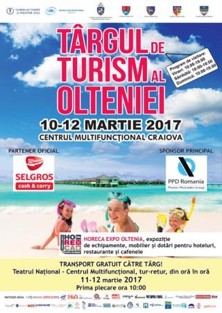Afis Targul de Turism al Olteniei 2017