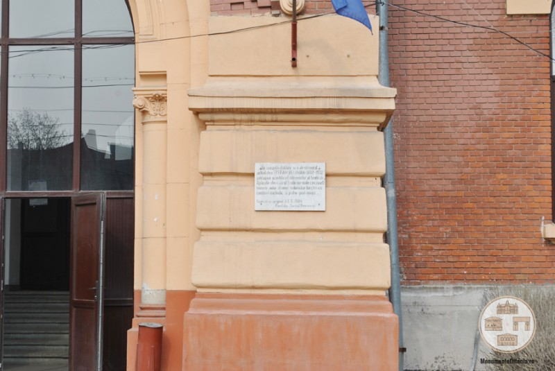 Fosta Scoala Normala de Baieti Craiova - placuta