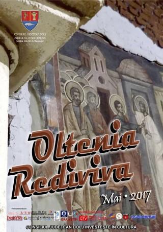 Afis expozitie Oltenia Rediviva la Muzeul Olteniei