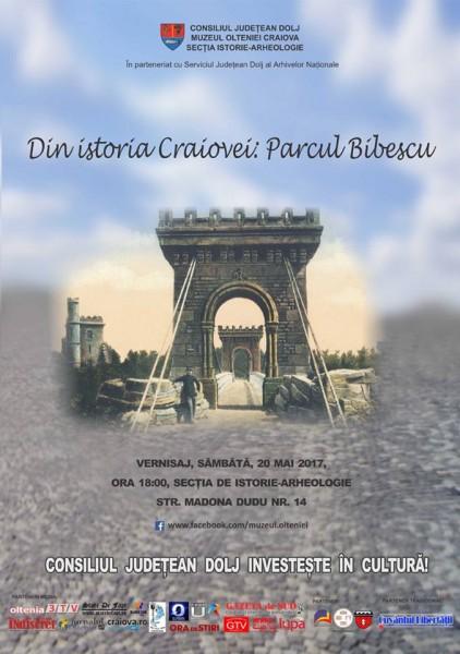 Din istoria Craiovei - Parcul Bibescu
