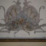 Palatul Plesa Obarsia de Camp - decoratiune pictata. Credit foto: Pirvu Ionica