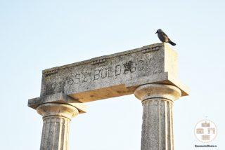 Monumentul funerar al lui Ulisse Boldescu - grinda