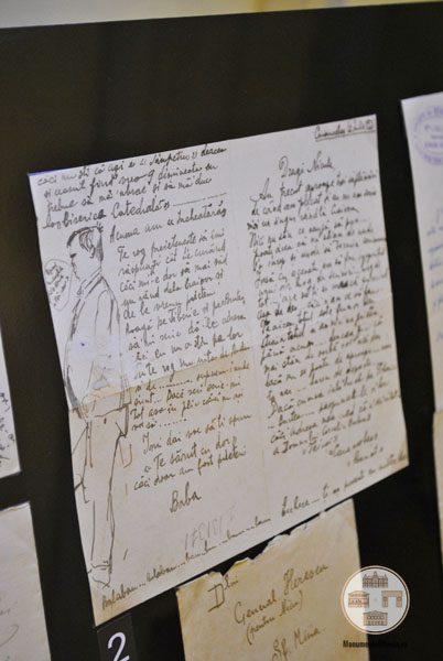 Scrisoare adresata de Corneliu Baba lui Nicolae Herescu