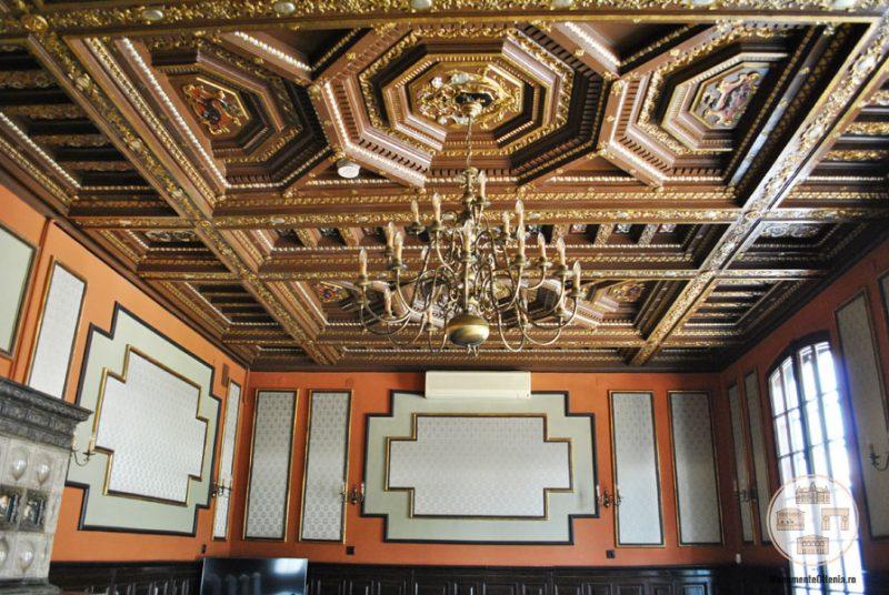 Casa Nicolae Romanescu - Salonul Grigore Moisil