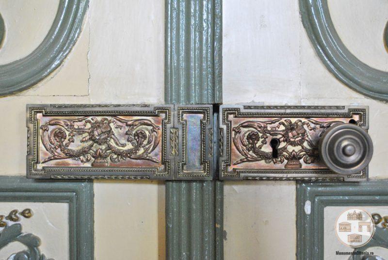 Casa Nicolae Romanescu - detalii decorative salonul Hillary