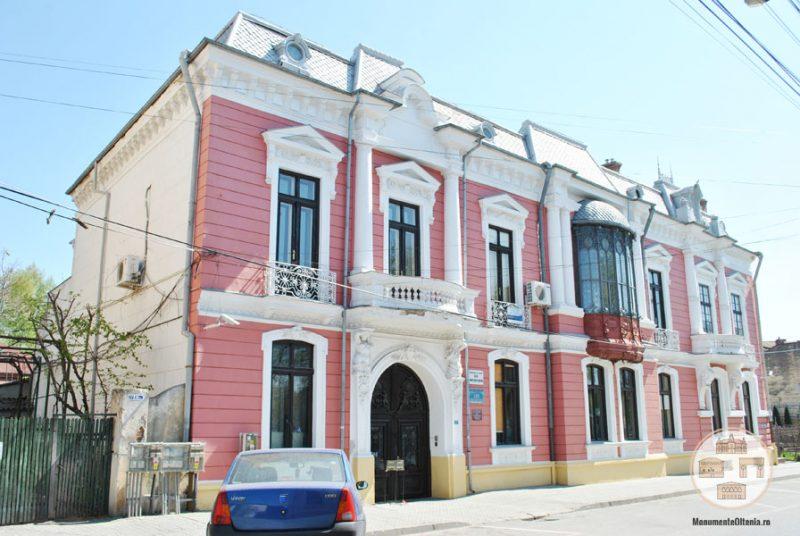 Casa Nicolae Romanescu - fata de vest