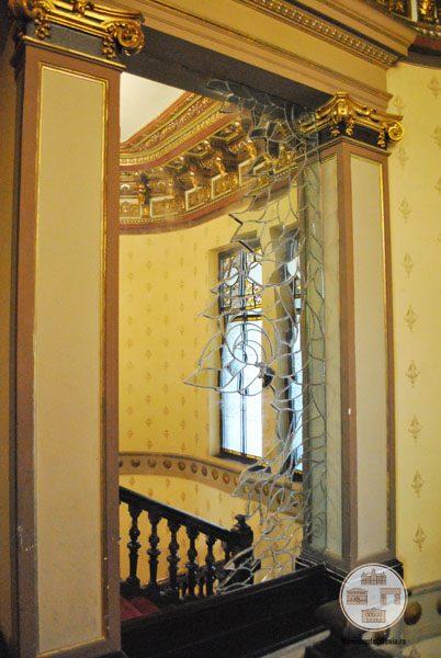 Casa Nicolae Romanescu - oglinda etajul I