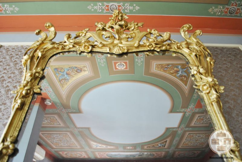 Casa Nicolae Romanescu - oglinda salonul Alexandru Piru