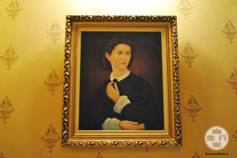 Casa Nicolae Romanescu - portret Lucia Romanescu