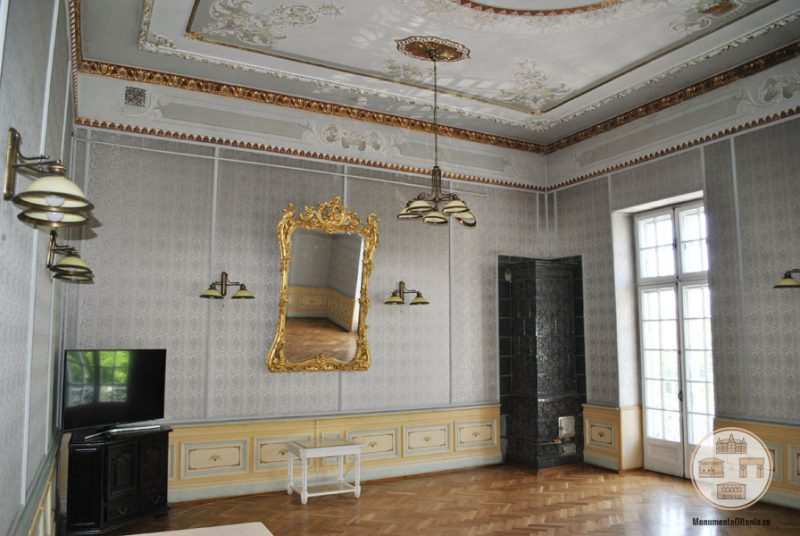 Casa Nicolae Romanescu - salon Nicolae Iorga