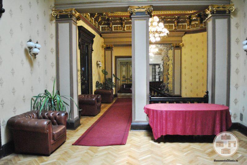 Casa Nicolae Romanescu - salon central etaj I
