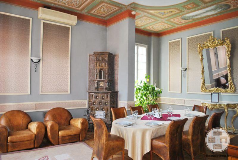 Casa Nicolae Romanescu - salonul Alexandru Piru