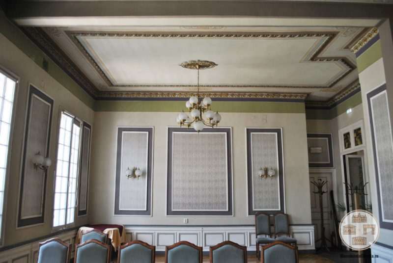 Casa Nicolae Romanescu - salonul Mihai Eminescu