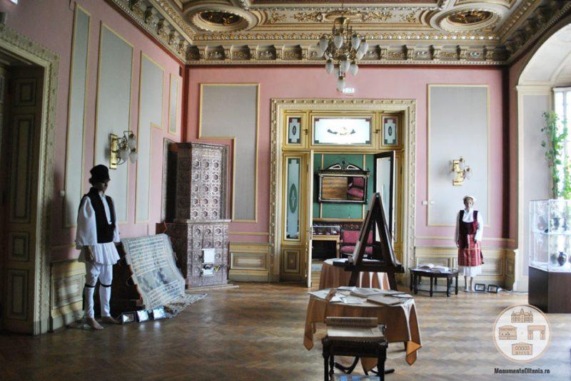 Casa Nicolae Romanescu - salonul de receptii