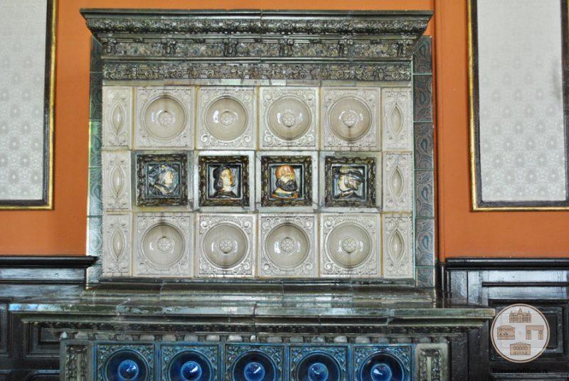 Casa Nicolae Romanescu - soba Salonul Grigore Moisil