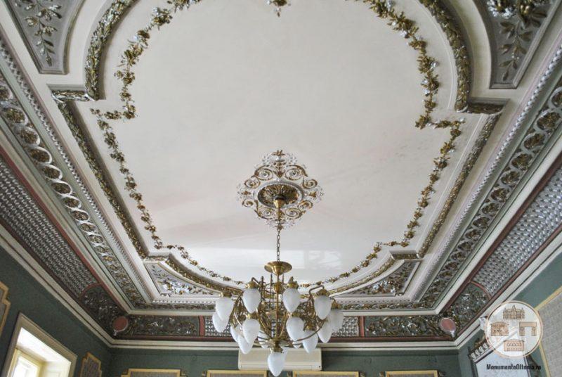 Casa Nicolae Romanescu - tavan salon receptii